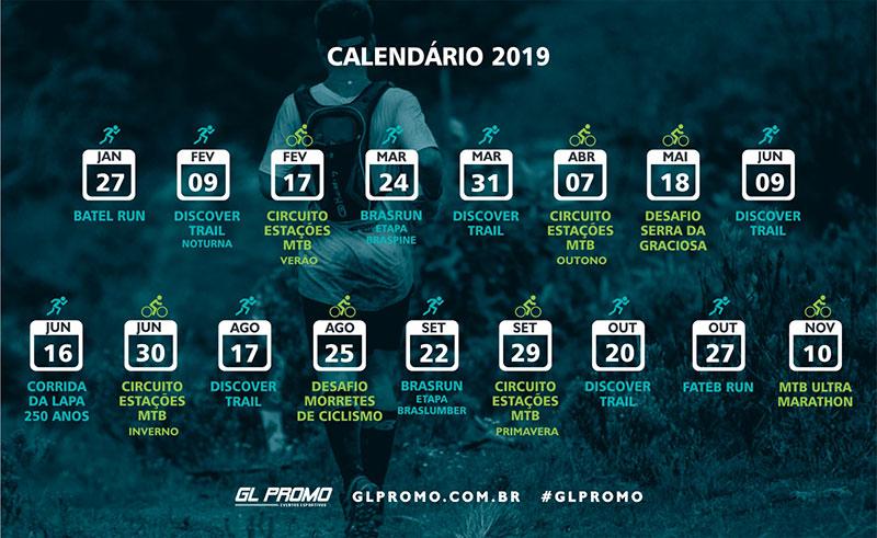 2019 Promete muitos desafios, novas conquistas e diversão garantida para todos!