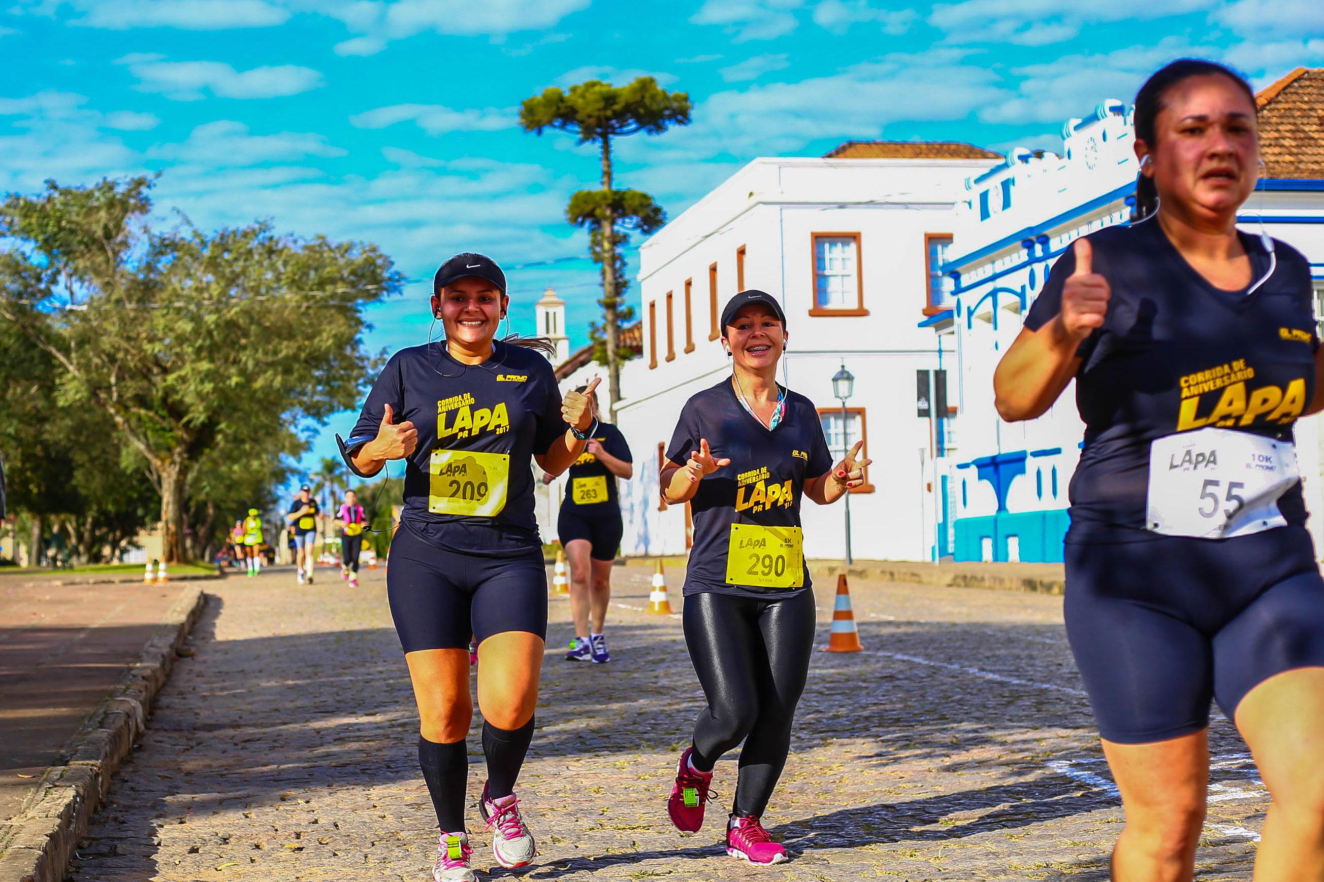 AVISO AOS ATLETAS - Corrida de Aniversário da Lapa 2018