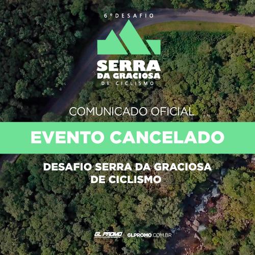 EVENTO CANCELADO! Desafio Serra da Graciosa de Ciclismo